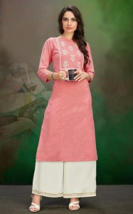 Channel 9 Swiggy Rayon Kurtis ( 4 pc catalog)
