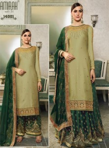 Amirah Vol-31 Modal Satin Dress Material ( 8 Pcs Catalog )