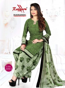 Rajguru Rudransh Synthetic Dress Material ( 12 pc catalog )