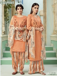 Alok Suits Nazpreet Dress Material ( 8 Pcs Catalog )