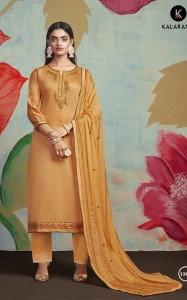 Kalarang Floral Beauty Jam Silk Embroidery Suit (4 pcs Catalog)