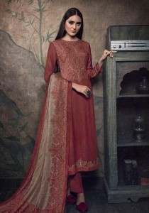 Sahiba Itrana Paisley Dress Material ( 12 Pcs Catalog )