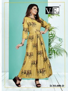Vee Fab India Miami Kurtiis ( 3 Pcs Catalog )