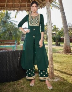 Stylemax Vintage Vol-2 Kurti With Palazzo ( 6 pc catalog )