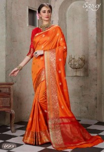 Saroj Rumani Silk Saree ( 6 pc catalog )