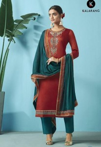 Kalarang Nazrana Dress Material ( 4 pc catalog )