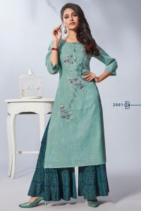 Nitya Feyre Vol-2 Kurti With Palazzo ( 8 Pcs Catalog )