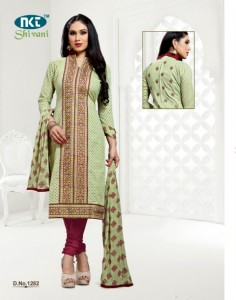 NKT Shivani Vol-14 Dress Material ( 12 pcs catalog )