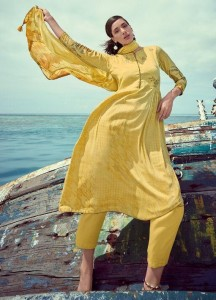 Varsha Fashion Tisya Dress Material ( 06 pc catalog )