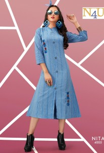 Tunic House Nita Kurtis ( 5 Pcs Catalog )