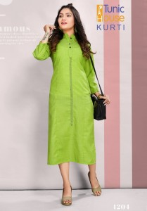 Tunic House Peace Kurtis ( 10 Pcs Catalog )
