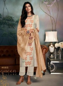 Jay Vijay Lavina Dress Material ( 9 pc catalog )