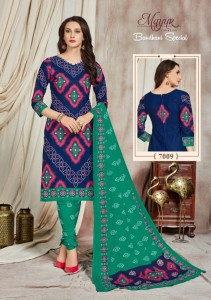 Mayur Creation Bandhani Special Vol-7 Dress Material (06 pc catalog)