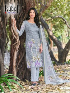 Ishaal Prints Gulmohar Vol-13 Dress Material ( 10 Pcs Catalog )