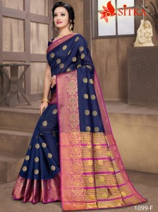 Sitka Ratnagiri 1099 Handloom Cotton Sarees ( 6 pc catalog )