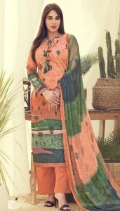 Kesar Karachi Krizia Dress Material (8 pcs catalog )