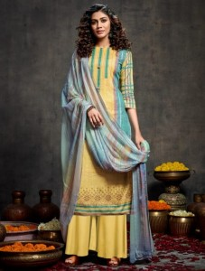 Kesar Eba Lawn Cotton Dress Material ( 8 pcs catalog )