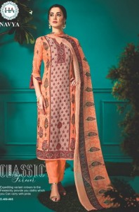 Harshit Fashion Navya Dress Material ( 10 Pcs Catalog )