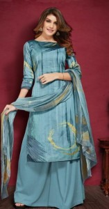 Rani Dollar -2 Jam Satin Dress Material ( 8 Pc catalog )
