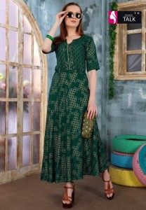 Fashion Talk Pearl Vol-1 Kurtis ( 8 Pcs Catalog )