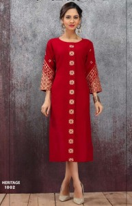 Fly Free Heritage Kurtis ( 6 pc catalog )