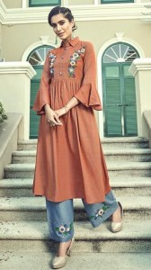 Stylemax Vintage Vol-3 Kurti With Palazzo ( 6 pc catalog )