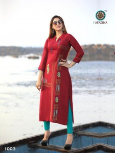 Aradhna Queen vol 2 Rayon Kurtis ( 8 Pcs Catalog )