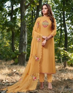 Bela Fashion Manzil Dress Material (7 pc catalog)