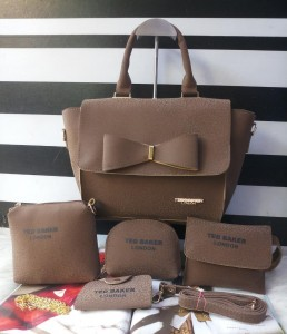 Imported Quality ladies bags 5pc combo set