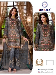 Shanaya Fashion Designer Georgette Dress material