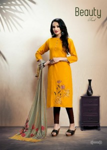 Sitka Look Back Rayon Kurtis ( 4 Pcs Catalog )