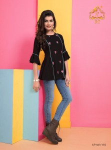 Rijiya Trends Jolly Vol-03 Kurti (6 Pcs Catalog )