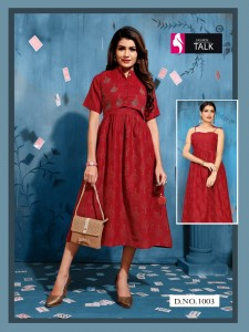 Fashion Talk Tucute Rayon Kurtis ( 8 Pcs Catalog )