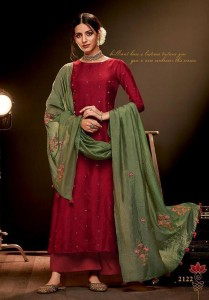 Jay Vijay Raaga Vol-4 Super Hit  Silk Dress Material