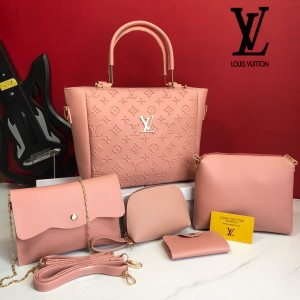 Imported Ladies 5pcs Combo Bags