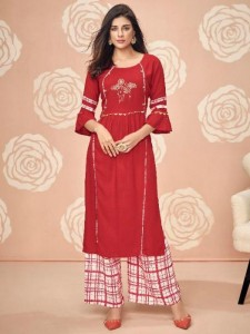 Gulkand Kitab Vol-4 Kurti With Palazzo ( 8 Pcs Catalog )