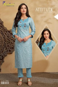 Karissa Sangini Kurti With Pants ( 6 Pcs Catalog )