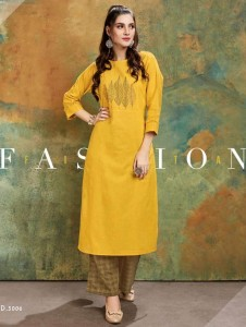 Channel 9 Lo-Real Kurti With Palazzo ( 6 pc catalog)