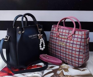 Imported Quality ladies bags 2pc combo set