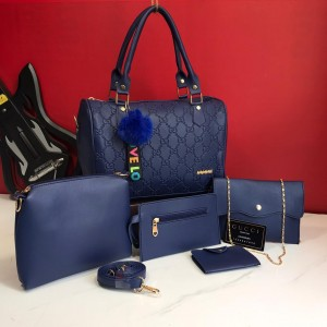 Imported Ladies 5pcs Set Combo Bags