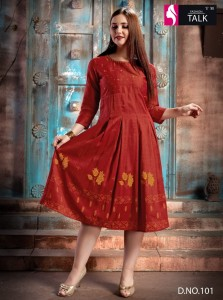 Fashion Talk Handmade Vol-1 Kurtis ( 10 Pcs Catalog )