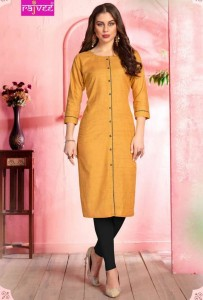 Rajvee Apple Cotton Kurtis ( 6 Pcs Catalog )