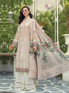 Shree Fabs Maria B Lawn Collection Vol-4 Pakistani Dress Material (6 Pcs Catalog )