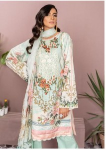 Deepsy Firdous 09 Cotton Solid Pakistani Style Dress Material ( 6 Pcs Catalog )