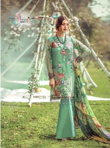 Shree Fab Rang Rasiya Digital Lawn vol-3 ( 7 Pc catalog)