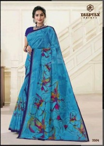 Deeptex Mother India Vol-35 Cotton Sarees ( 30 pc set )