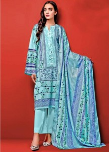 Huda fatima Premium Lawn Collection vol-1 ( 10 pc catalog)