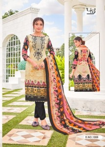 Fariyaz Lawns Aaghaz vol 2 Lawn Cotton with Mal Mal Duppatta( 8 pc Catalog)