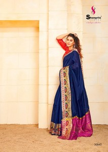 Shangrila Presents Nikita Silk  Soft Silk Saree ( 12 Pc Catalog)