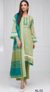 Nikhaar Luxury Karachi Cotton Dress Material ( 10 Pcs Catalog )